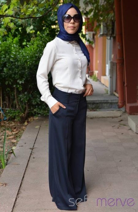 İspanyol paça pantolon ve Pileli Pantolon Etek Modelleri