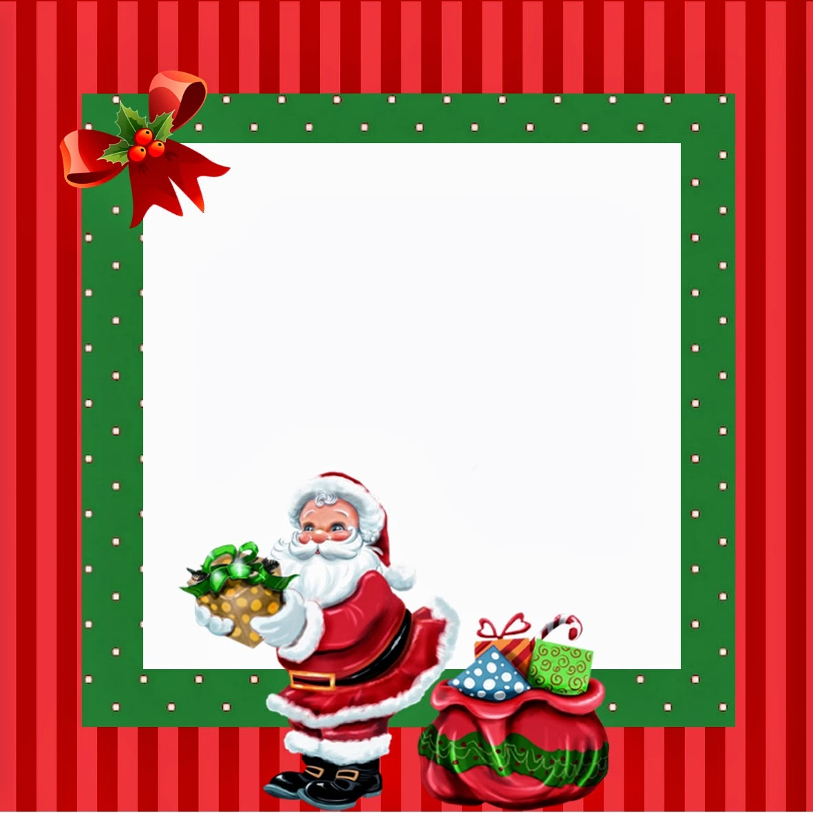 christmas santa free printable kit is it for parties is it