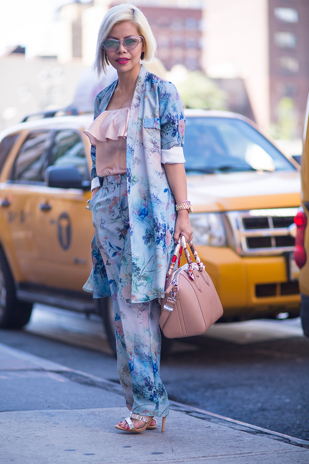 Crystal Phuong- New York Fashion Week Day 5  Streetstyle
