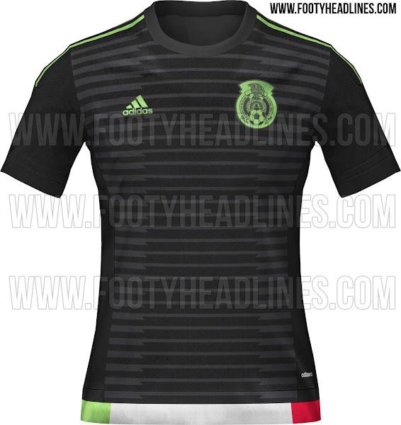 Se filtra la nueva camiseta titular adidas de la Selección de México para la Copa América