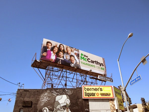 The McCarthys billboard