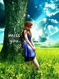 Download I Miss You Sad Girl In Alone Wallpaper