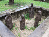 Slave Auction Memorial, Anglican Church Grounds, Zanzibar, Tanzania