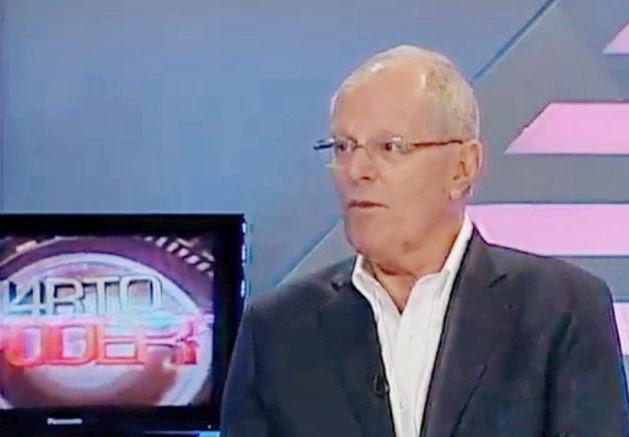 PPK lanzó su candidatura a la presidencia de la República