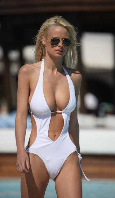 Rhian Sugden Sexy in Bikini