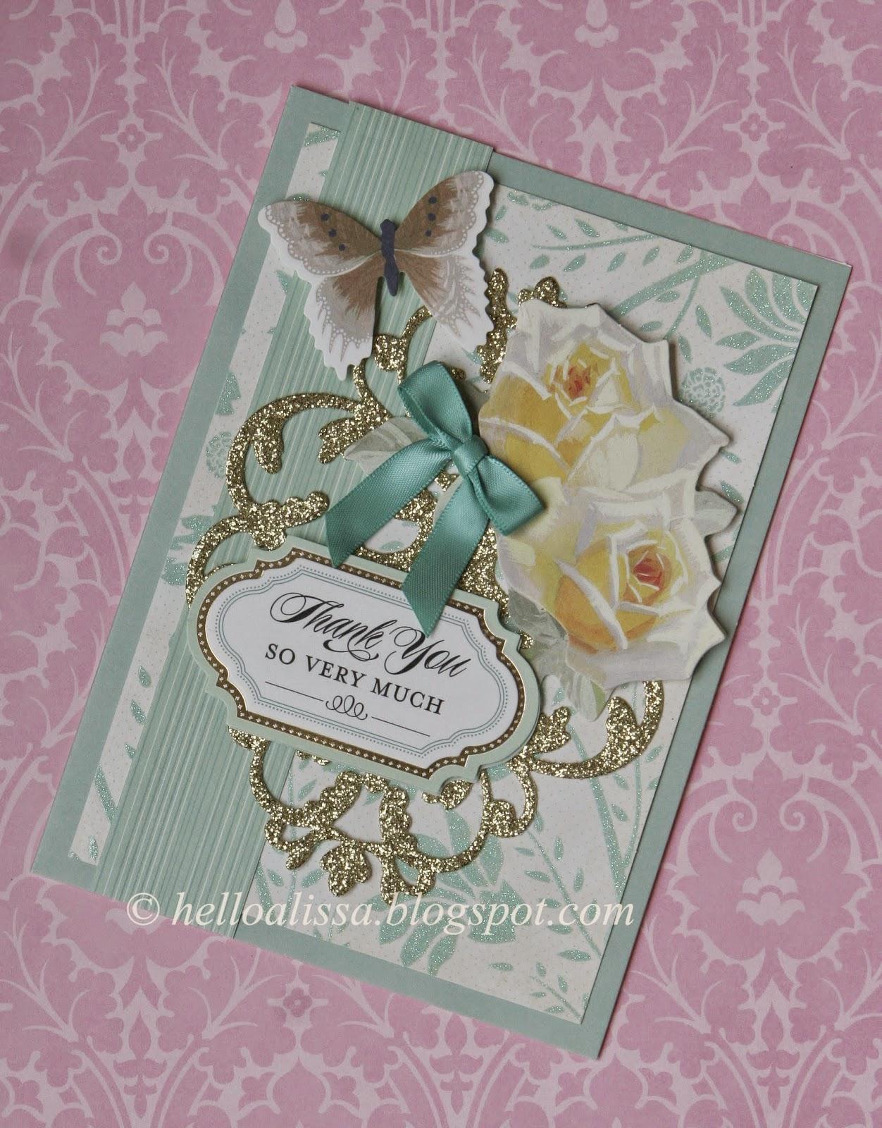 helloalissa  anna griffin garden window card making kit