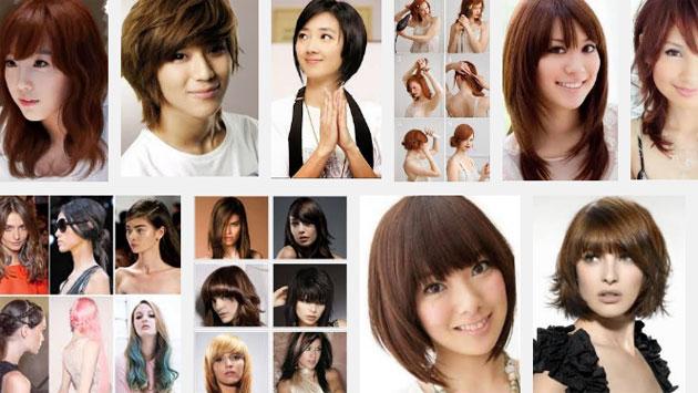 model gaya rambut wanita 2014