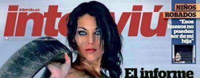 Sonia Ruz Cañaveras posará en Revista Interviu de Julio de 2011.