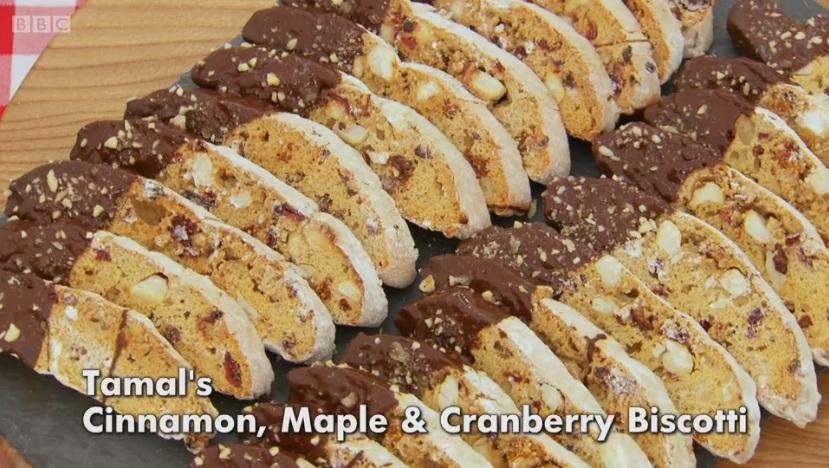 ... Explorer: Chocolate Dipped Almond & Orange Biscotti: GBBO Week #2