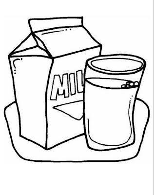 COLOREA TUS DIBUJOS: Lácteos para colorear