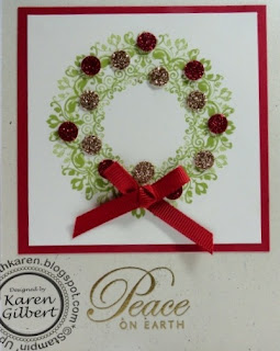 Christmas Wreath - Day Dream Medallions
