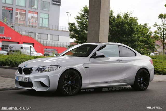 BMW M2 F87 Rendering