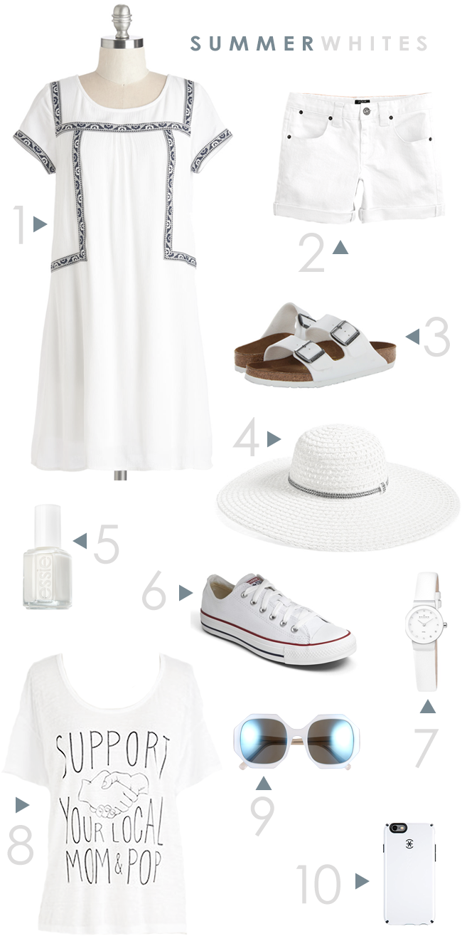 Summer Whites (via Bubby and Bean)