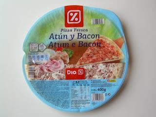 Pizza fresca de atún y bacon DIA (Blog Marcas Blancas)