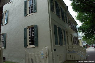 Captain James Lawrence birthplace Burlington