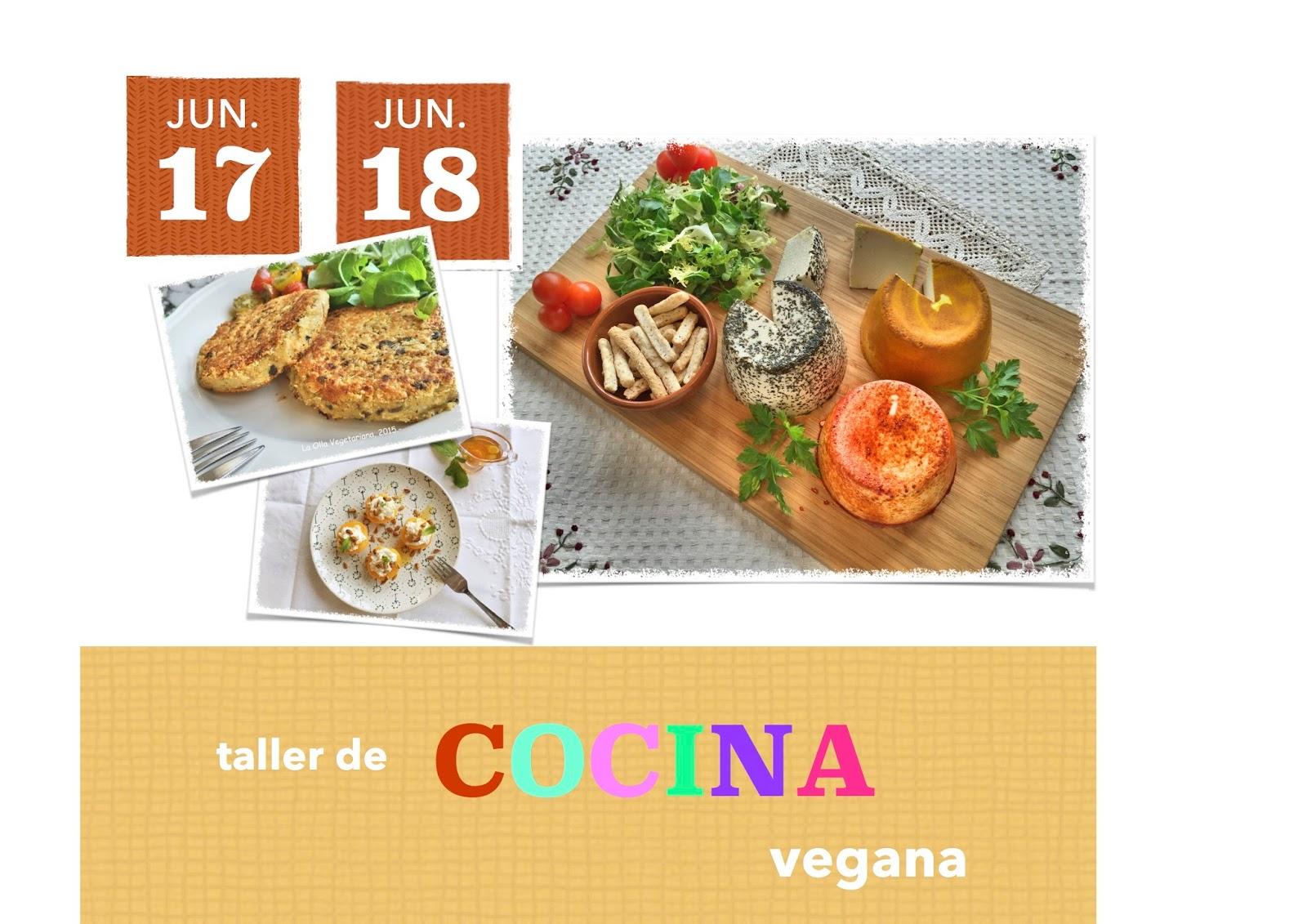 La olla vegetariana taller de cocina vegana for La cocina taller
