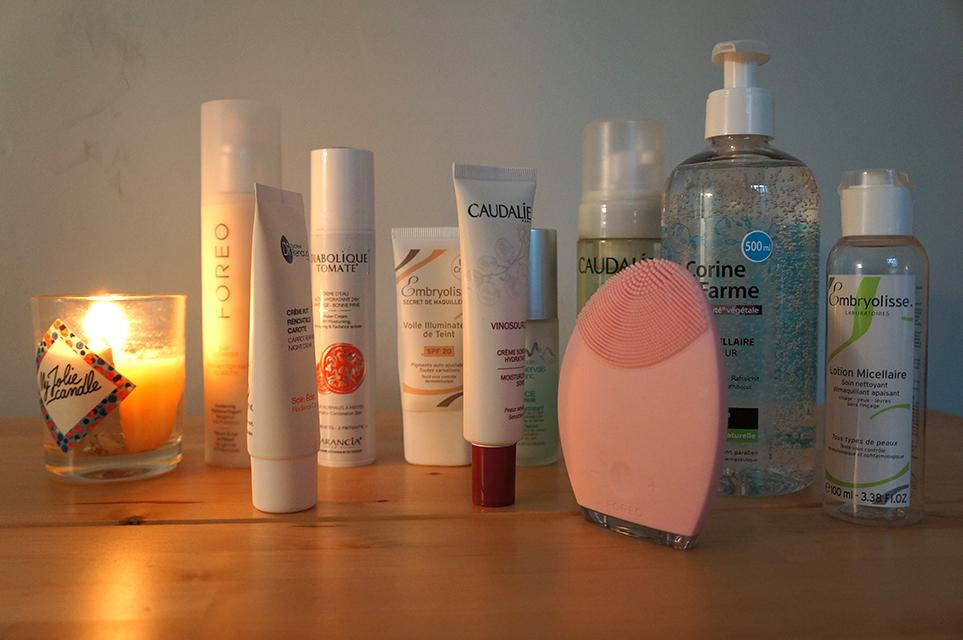 produit nettoyage de peau