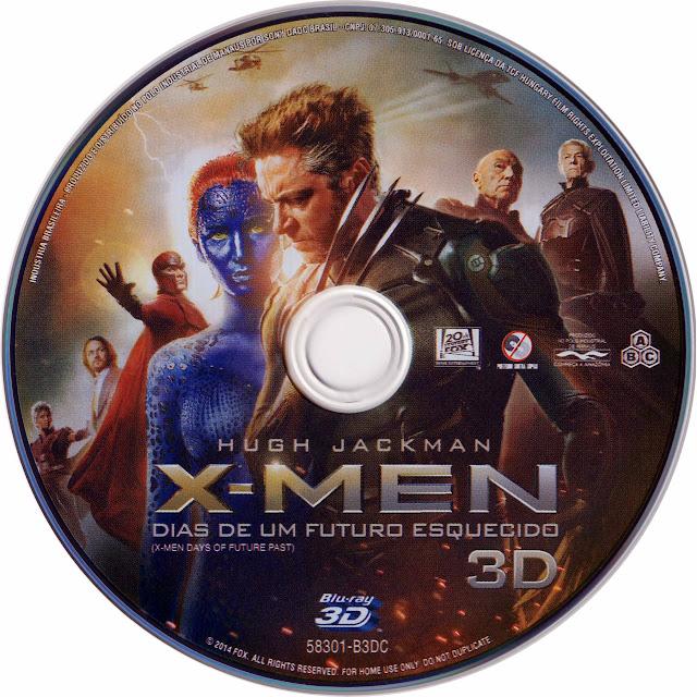 Label Bluray X Men Dias De Um Futuro Esquecido