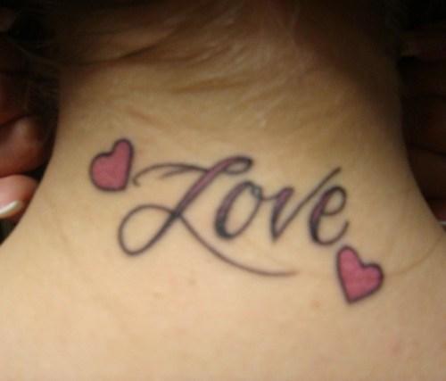 Sampoerna Poetra Simple Heart Tattoos Designs