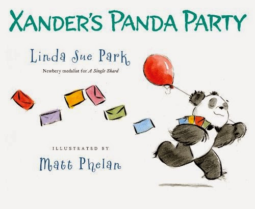 http://www.amazon.com/Xanders-Panda-Party-Linda-Park/dp/0547558651