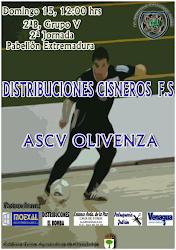 DERBI EXTREMEÑO: DISTR CISNEROS (ALMENDRALEJO) - OLIVENZA_ACVFS (EXTREMADURA)