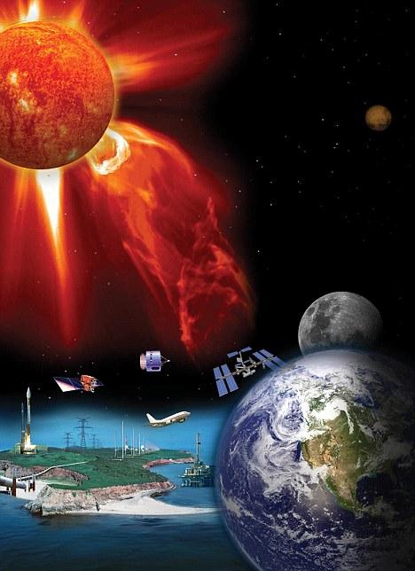 Charla sobre el actual Ciclo Solar y su Impacto sobre nuestra vida ¿Qué podemos hacer para vernos menos afectados negativamente por este proceso natural?