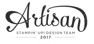 2017 Stampin' UP! Artisan Design Team Member