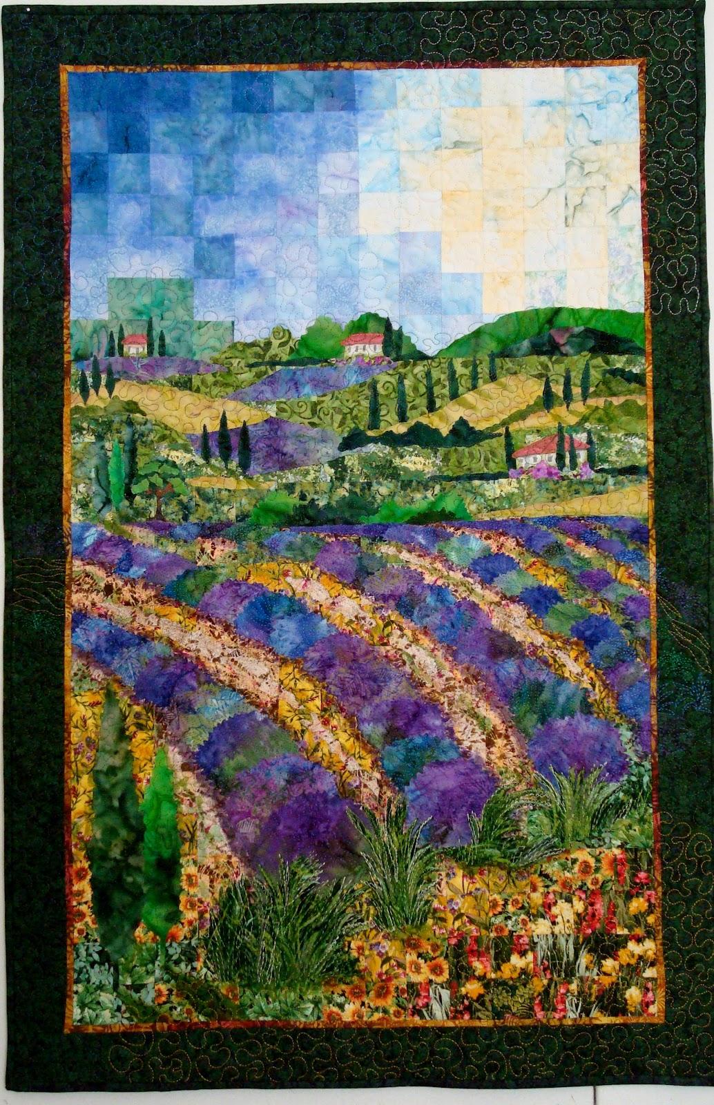 Jane's Garden of Quilts & Beyond: Gallery-Impressionist : impressionist quilts - Adamdwight.com