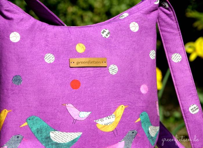 Hobo Bag nach dem Schnitt von Miriam Dornemann