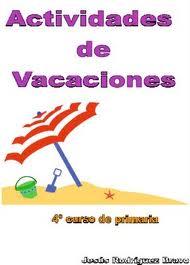 MilagroTIC: CUADERNOS REPASO VACACIONES - 4º PRIMARIA - IMPRIMIBLES PDF-