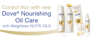 Free Dove Nourishing Oil Care