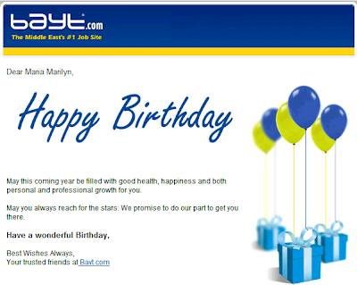 Web Birthday Greetings Through Email Sites And Facebook