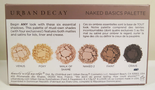 Urban Decay Naked Basics BACK