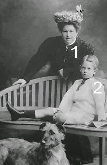 Isabella et Albrecht d'Autriche-Teschen