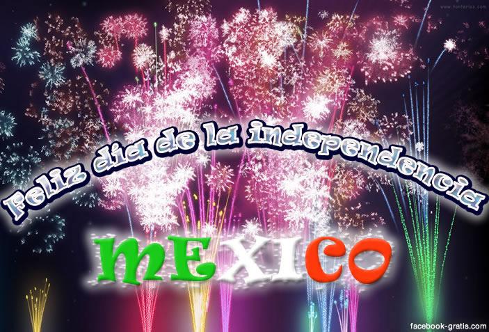 Felicidades a México en su día de la independencia