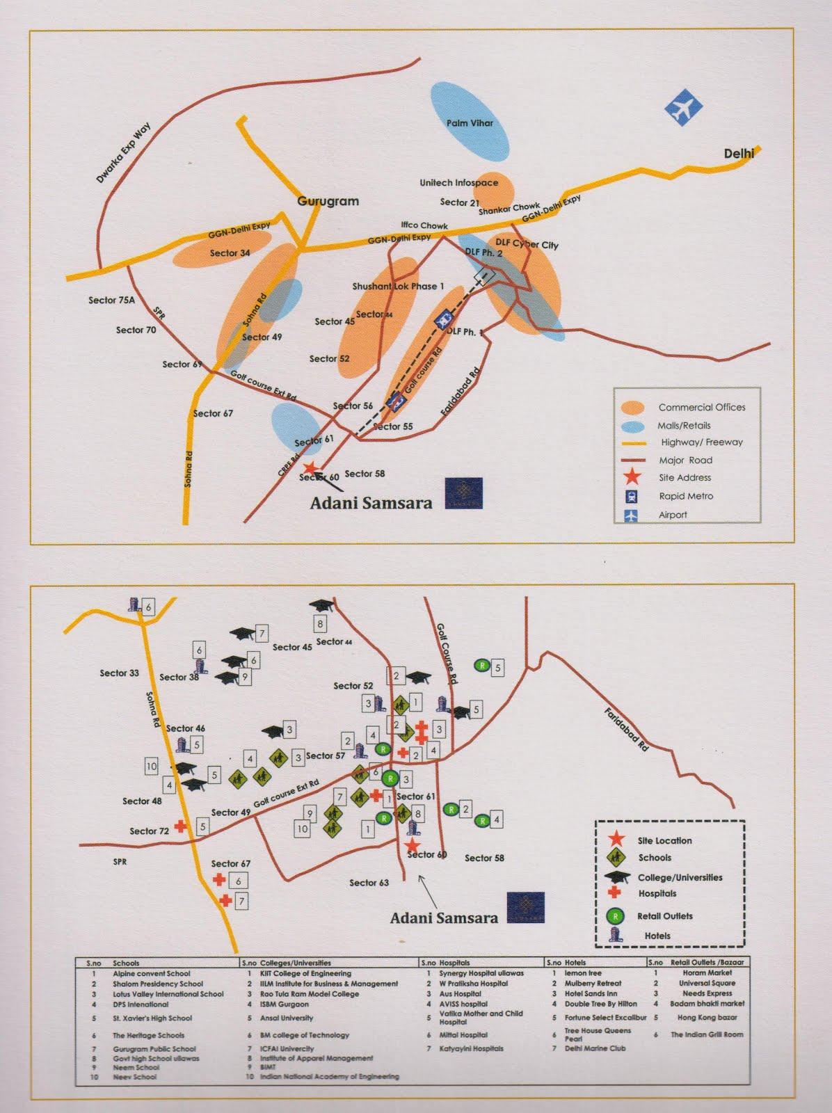Adani-samsara-locations