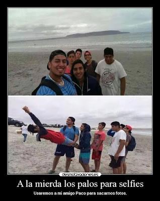 palos selfi,
