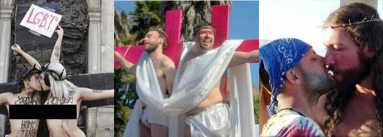 Outros abusos cometidos com a imagem de Cristo
