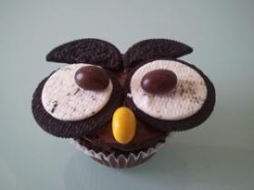 Guarda il mio Gufetto fatto con i Muffins...