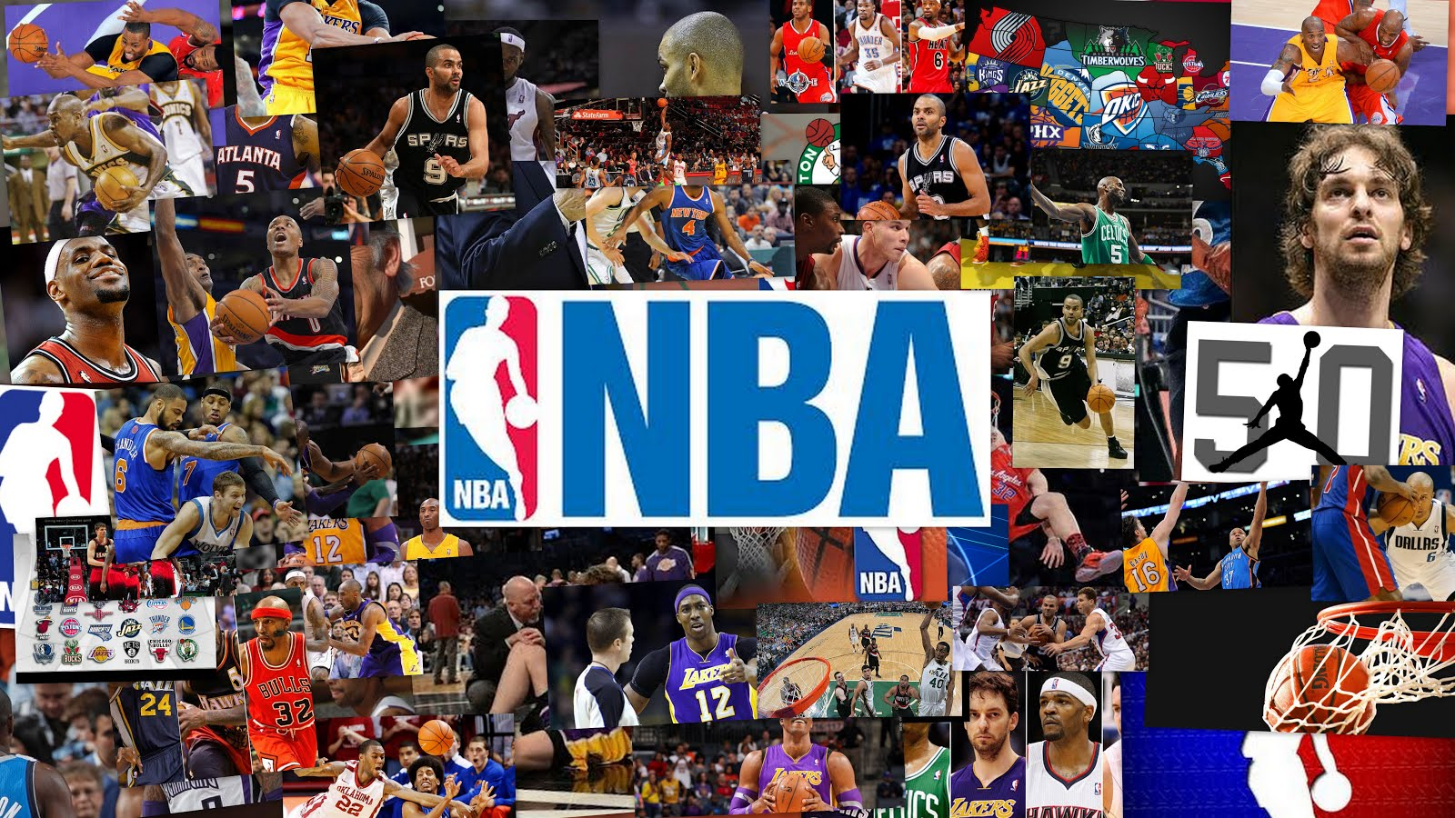 NBA Collage
