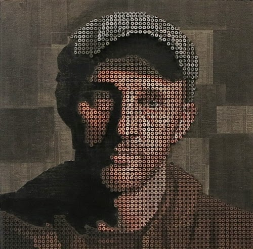 12-Shadow-Andrew-1-We-Dont-Belong-In-The-Shadows-Andrew-Myers-Screws-Oil-Paint-&-Phone-Book-Pages-www-designstack-co