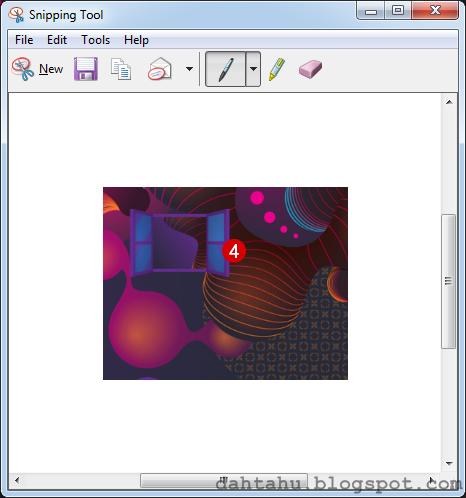 Snipping Tool Print Screen Cara Mudah 4