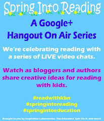 Schedule for Spring Into Reading Hangout On Air