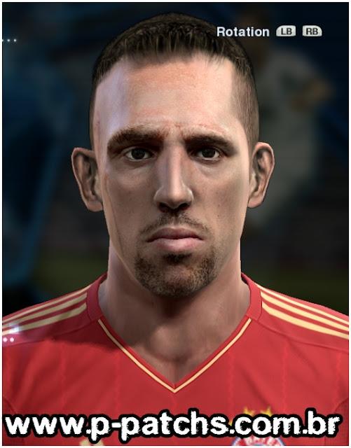 Franck Ribéry Face - PES 2013