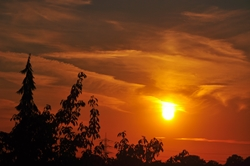 Die Sonne rückt gen Süden...