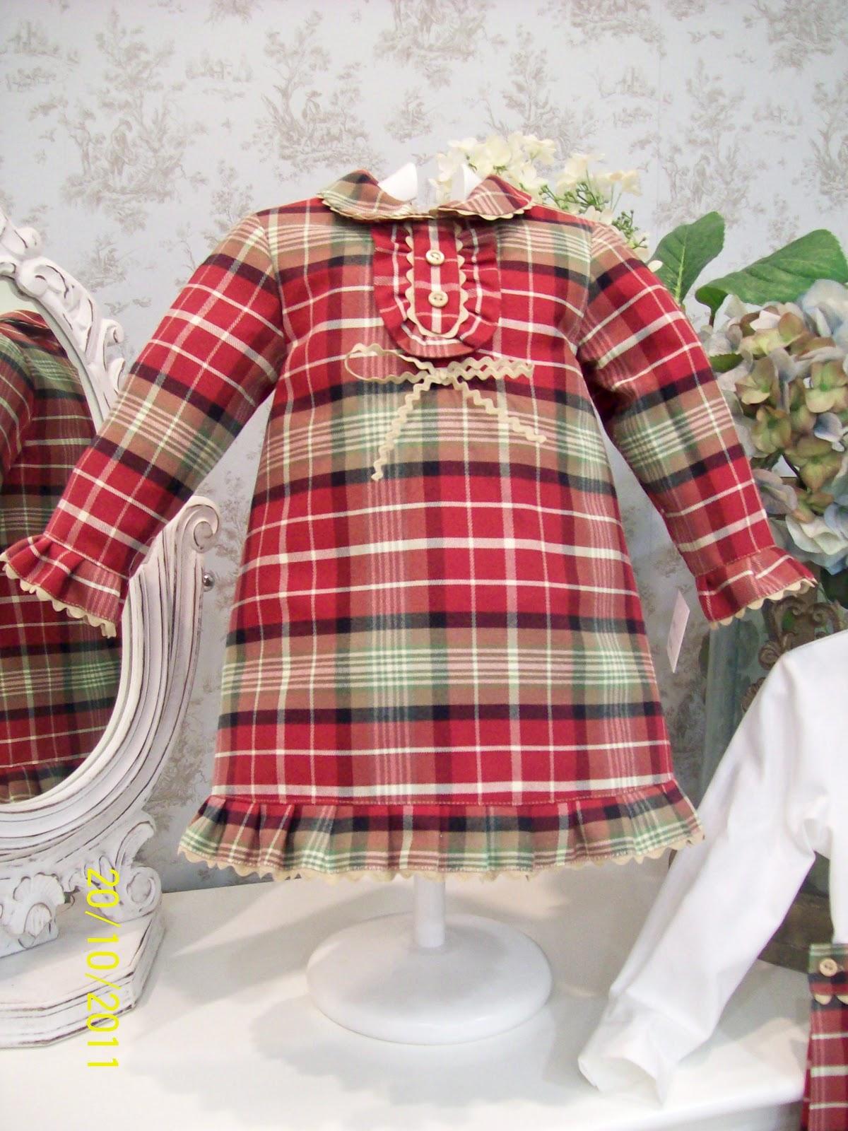 Cocolina moda infantil: EL ARMARIO DE INÉS. MODELO ESCOCIA.