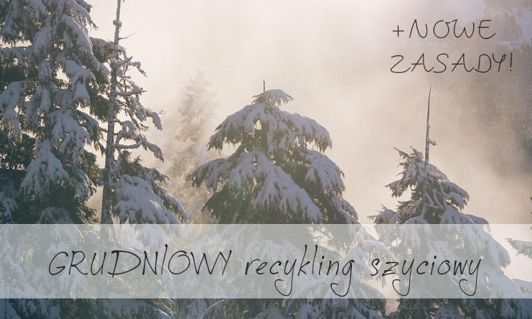 Grudzień 2014 – nowa gra w recykling