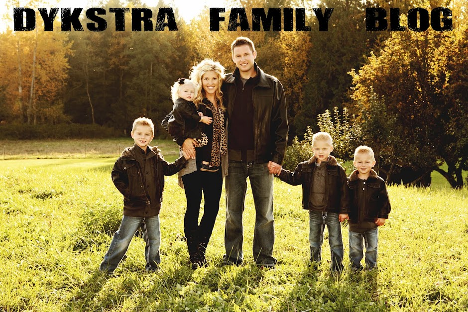Grant and Tara Dykstra Family Blog
