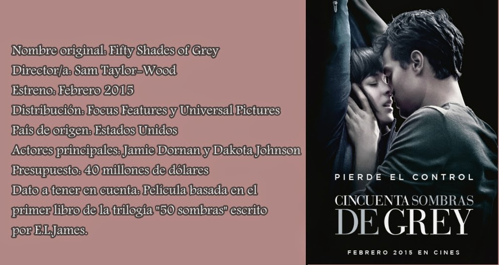 50 Sombras de Grey- La película | Khaleesi Geek