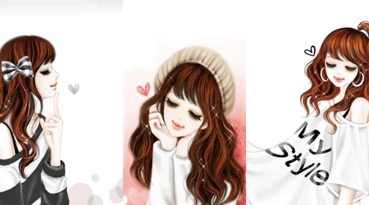 Trend Fashion Korea Terbaru Gambar Couple Kartun Korea Lallakyu Animation Korean Cute Cartoon